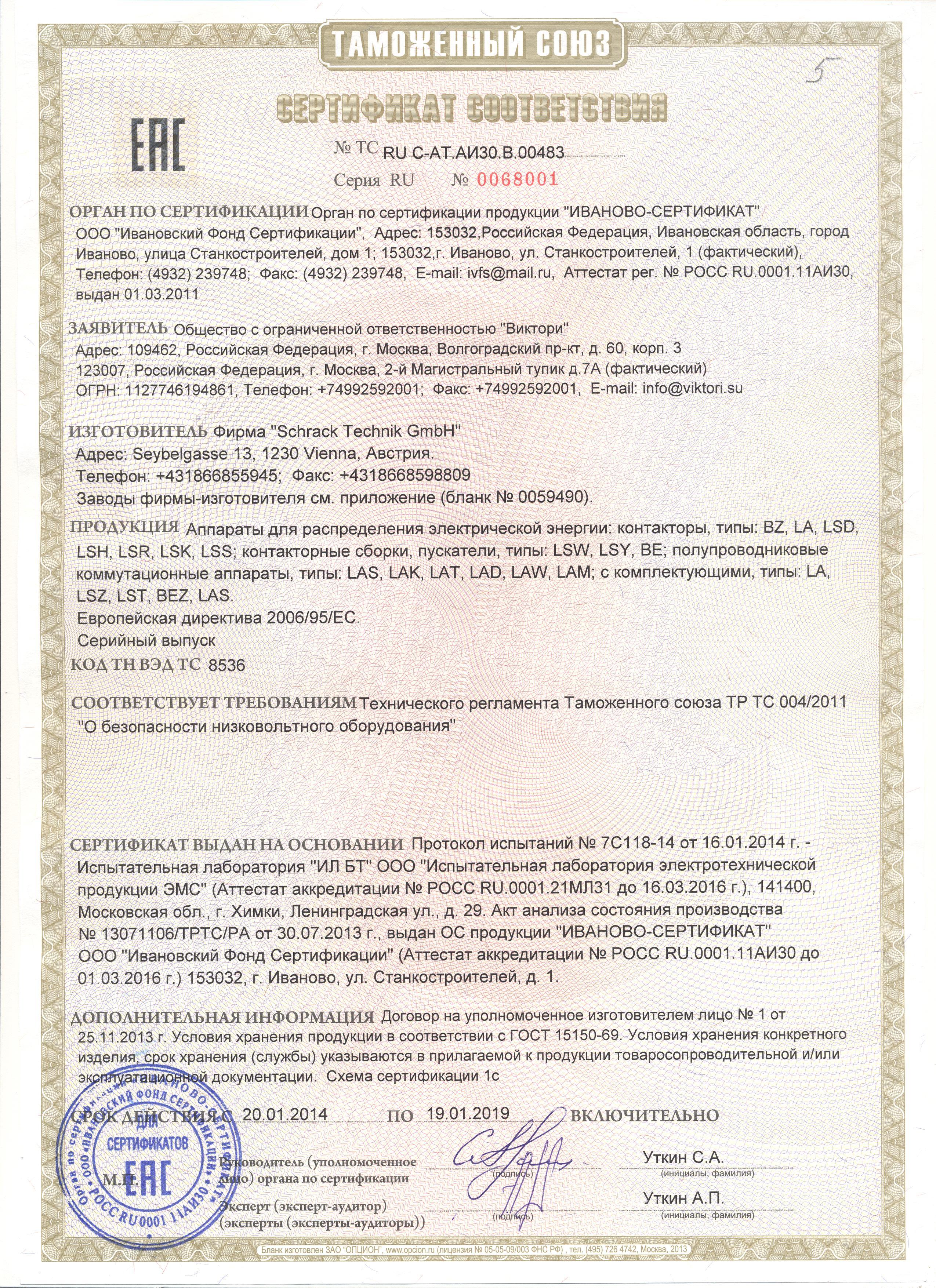 Сертификация эпра 1 с сертификация